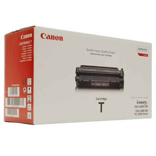 Canon Toner T toner cartridge 1 stuk(s) Origineel Zwart
