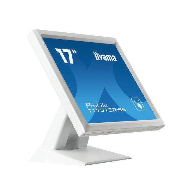 iiyama ProLite T1731SR-W5 touch screen-monitor 43,2 cm (17 inch) 1280 x 1024 Pixels Single-touch Wit