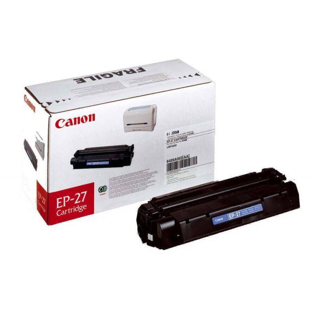 Canon EP-27 toner cartridge 1 stuk(s) Origineel Zwart