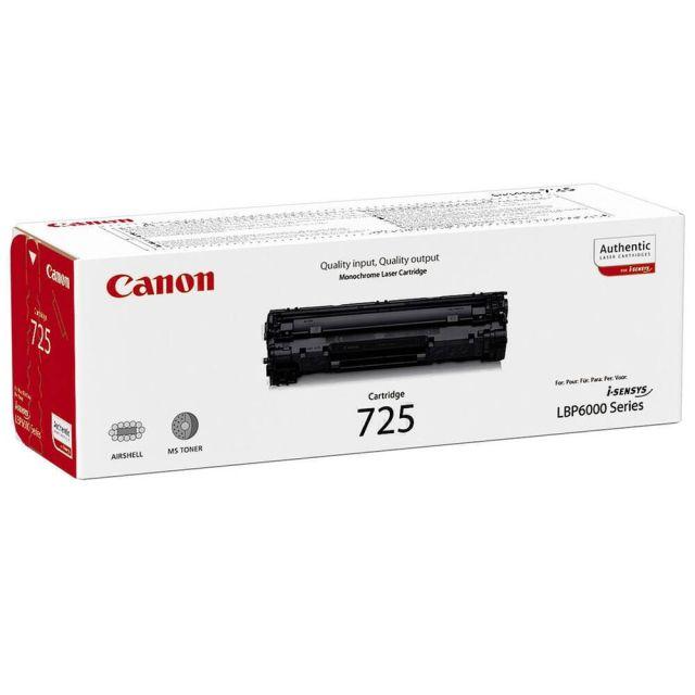 Canon CRG 725 toner cartridge 1 stuk(s) Origineel Zwart