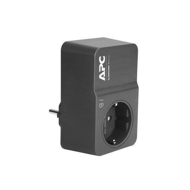 APC PM1WB-GR Overspanningsbeveiliging Zwart 1 AC-uitgang(en) 230 V