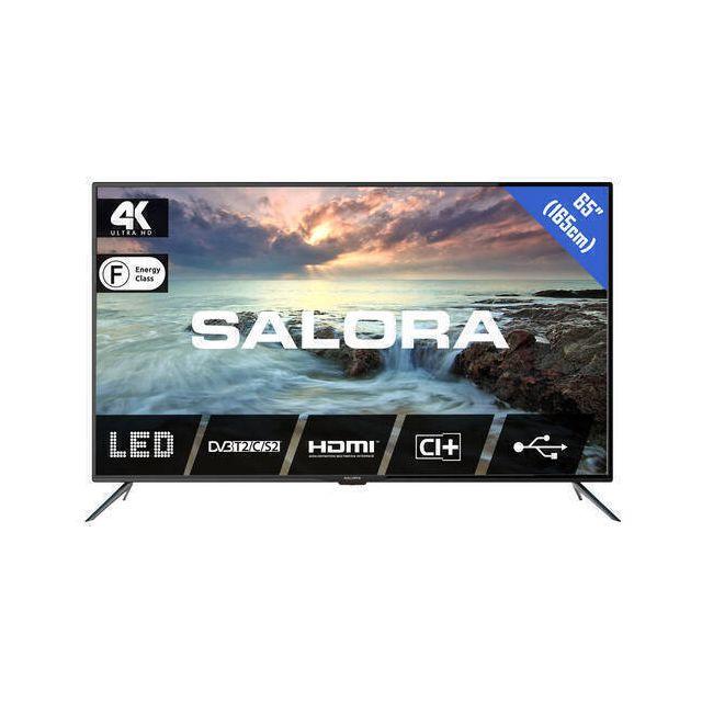 Salora 2800 series 65UHL2800 TV 165,1 cm (65 inch) 4K Ultra HD Zwart