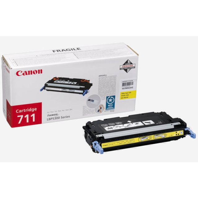 Canon 1657B002 toner cartridge 1 stuk(s) Origineel Geel