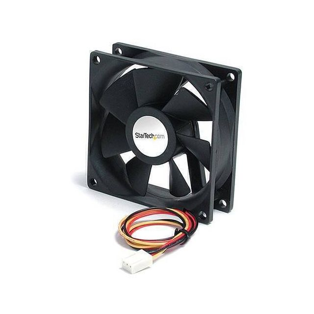 StarTech.com FAN9X25TX3L hardwarekoeling Computer behuizing Ventilator 9,2 cm Zwart