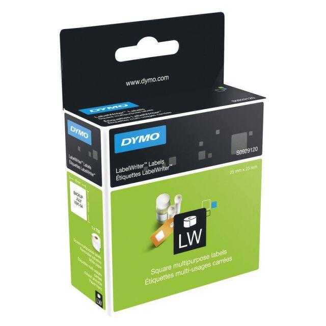 DYMO LW - Multi-Purpose Labels - 25 x 25 mm - S0929120 Wit Zelfklevend printerlabel