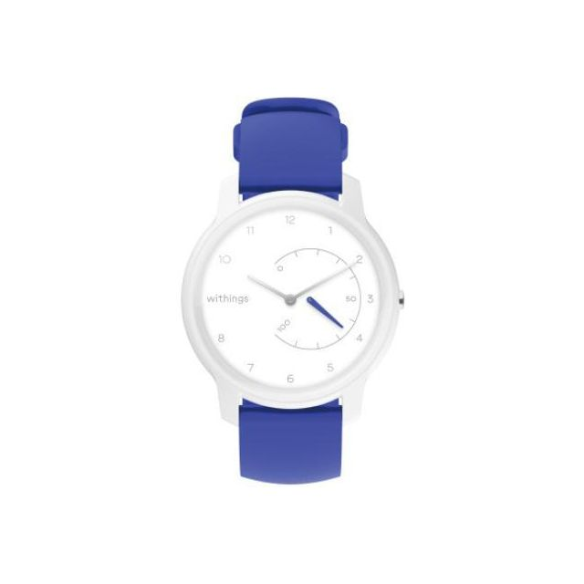 Withings Move Analoog Polsband activiteitentracker Blauw, Wit
