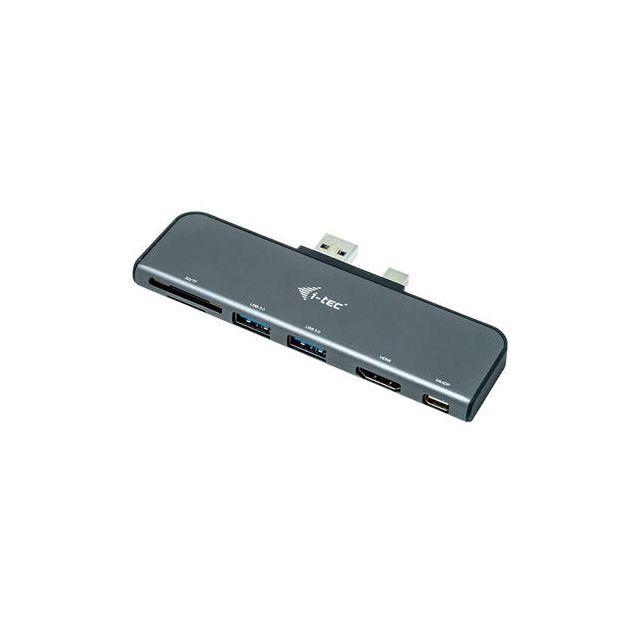 i-tec U3SFPADA notebook dock & poortreplicator Docking Grijs