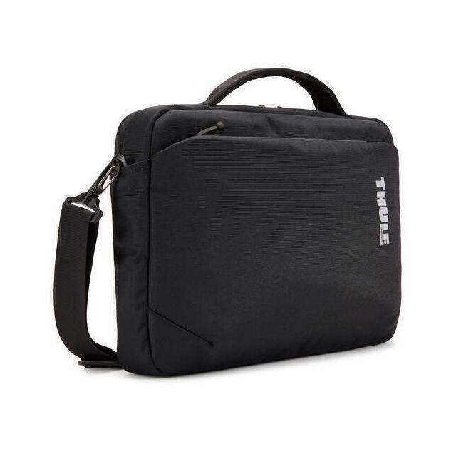 Thule Subterra TSA-313B Black notebooktas 33 cm (13 inch) Aktetas Zwart