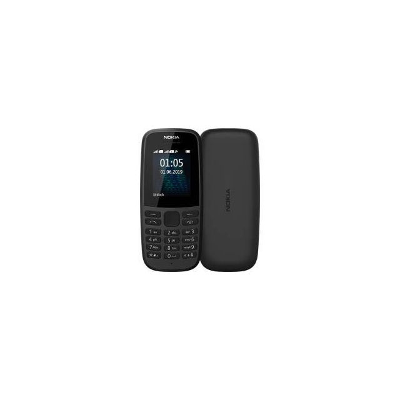Nokia 105 4,5 cm (1.77 inch) 73,02 g Zwart Basistelefoon
