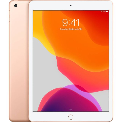 Apple iPad 4G LTE 32 GB 25,9 cm (10.2 inch) Wi-Fi 5 (802.11ac) iPadOS Goud