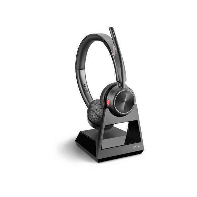 POLY 7220 Office Headset Hoofdband Zwart