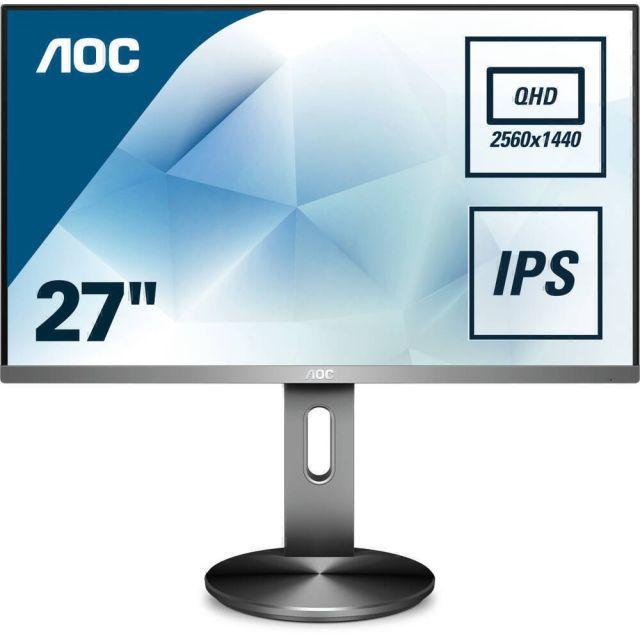AOC 90 Series Q2790PQE PC-flat panel 68,6 cm (27 inch) 2560 x 1440 Pixels Quad HD LED Zwart