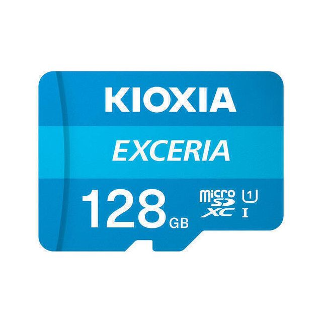Kioxia Exceria flashgeheugen 128 GB MicroSDXC UHS-I Klasse 10