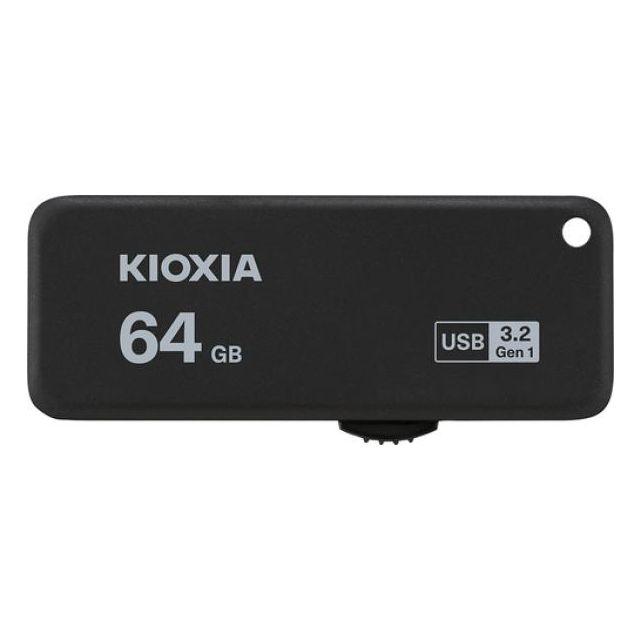 Kioxia TransMemory U365 USB flash drive 64 GB USB Type-A 3.2 Gen 1 (3.1 Gen 1) Zwart