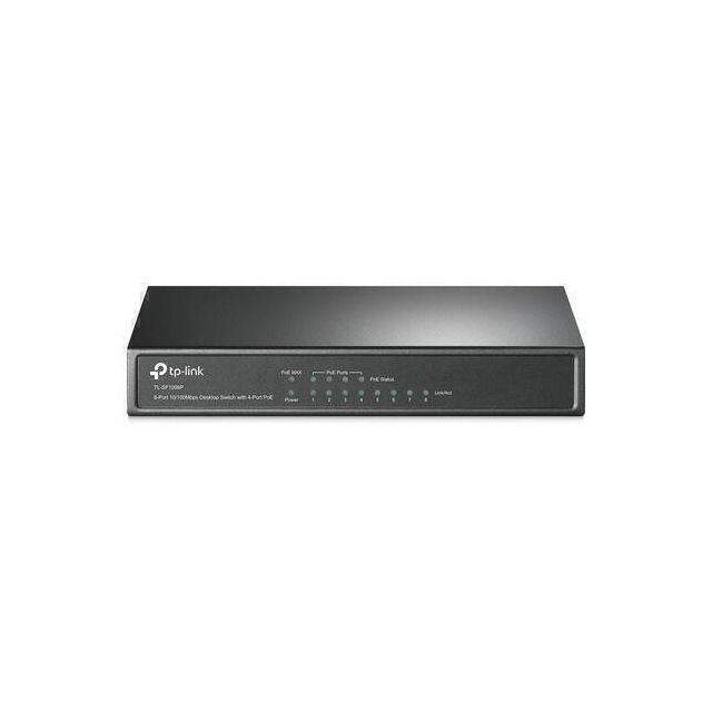 TP-LINK TL-SF1008P netwerk-switch Unmanaged Fast Ethernet (10/100) PoE Olijf