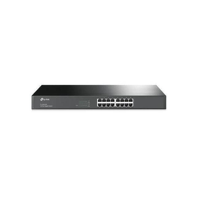 TP-LINK TL-SG1016 netwerk-switch Unmanaged Gigabit Ethernet (10/100/1000) 1U Zwart
