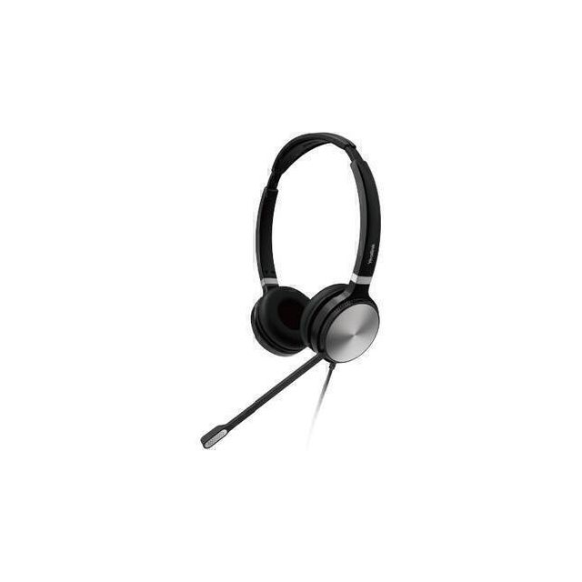 Yealink UH36 Dual Headset Hoofdband 3.5 mm connector USB Type-A Zwart, Zilver