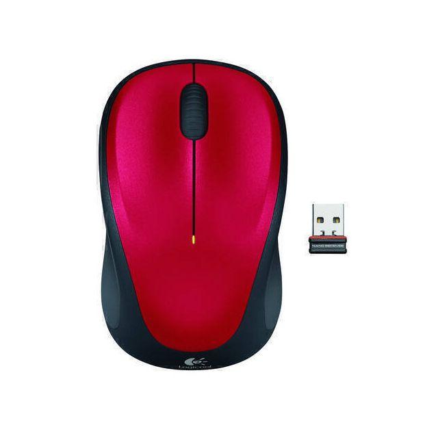 Logitech M235 Wireless Mouse muis RF Draadloos Optisch