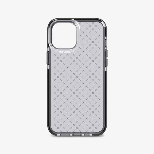 Tech21 Evo Check mobiele telefoon behuizingen 17 cm (6.7 inch) Hoes Zwart, Doorschijnend