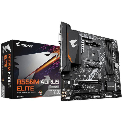 Gigabyte B550M AORUS ELITE AMD B550 Socket AM4 micro ATX