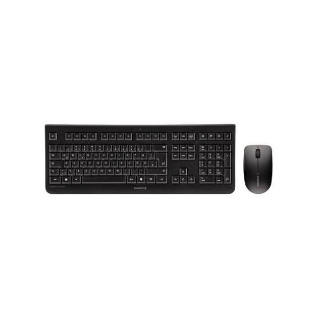 CHERRY DW 3000 toetsenbord RF Draadloos AZERTY Belgisch Zwart