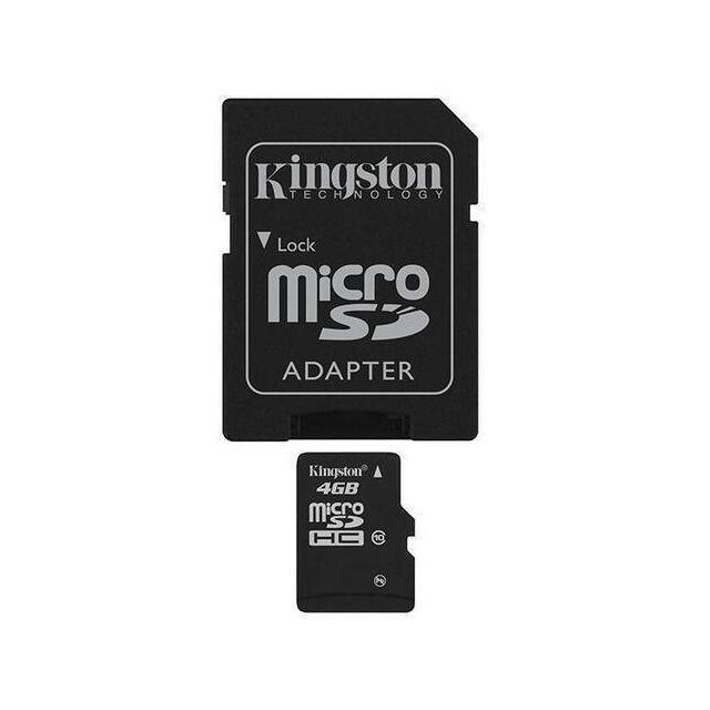 Kingston Technology 4GB microSDHC Card flashgeheugen Flash