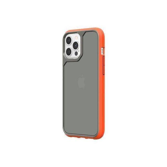 Griffin GIP-053-ORG mobiele telefoon behuizingen 17 cm (6.7 inch) Hoes Grijs, Oranje