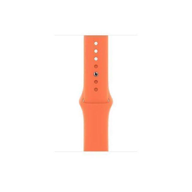 Apple MYD22ZM/A smartwatch accessory Band Oranje Fluorelastomeer