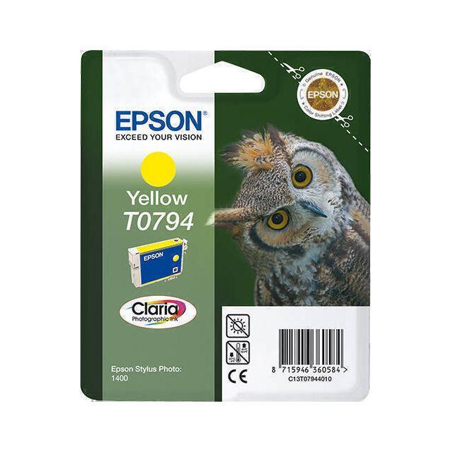 Epson Owl T0794 inktcartridge 1 stuk(s) Origineel Geel