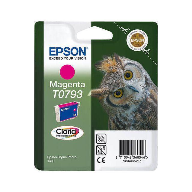 Epson Owl T0793 inktcartridge 1 stuk(s) Origineel Magenta
