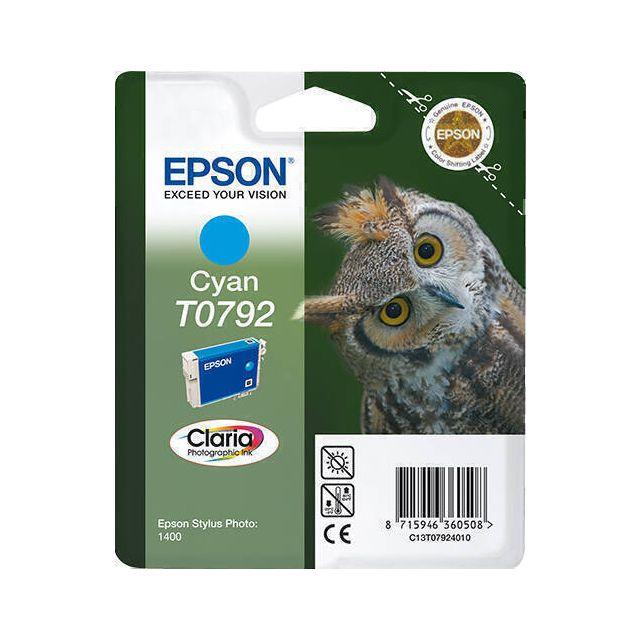 Epson Owl T0792 inktcartridge 1 stuk(s) Origineel Cyaan