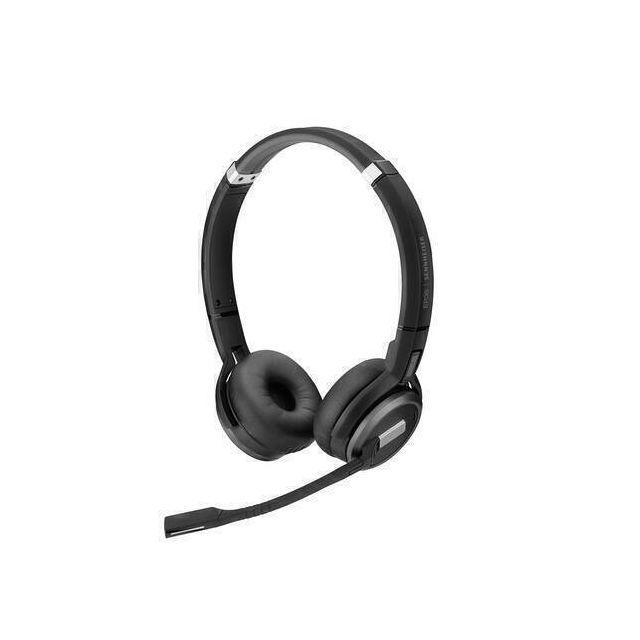 EPOS | SENNHEISER IMPACT SDW 60 HS Headset Hoofdband Zwart