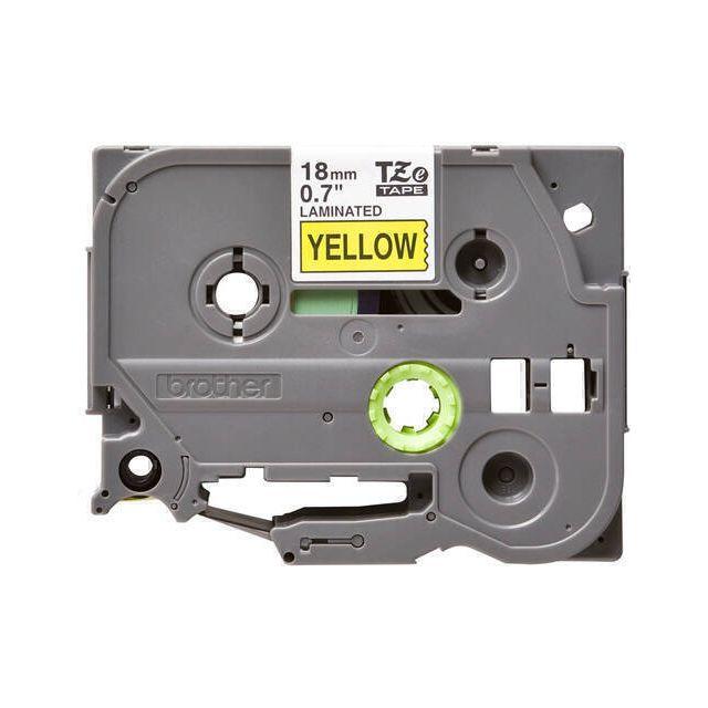 Brother TZE641 labelprinter-tape Zwart op geel TZe