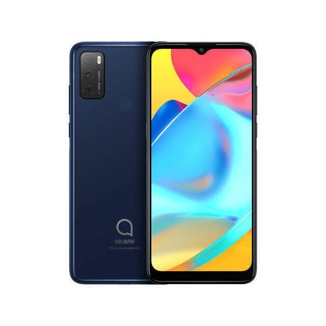 Alcatel 3L 2021 16,6 cm (6.52 inch) Hybride Dual SIM Android 11 4G Micro-USB 4 GB 64 GB 4000 mAh Blauw