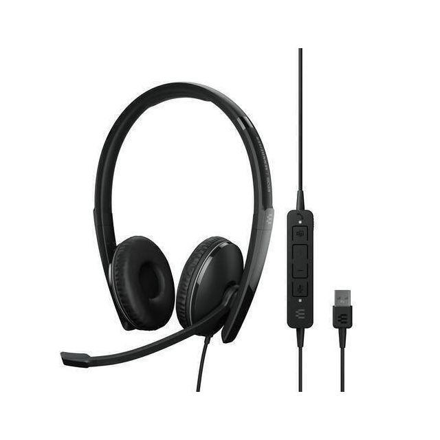 EPOS | SENNHEISER ADAPT 160T ANC USB Headset Hoofdband USB Type-A Zwart