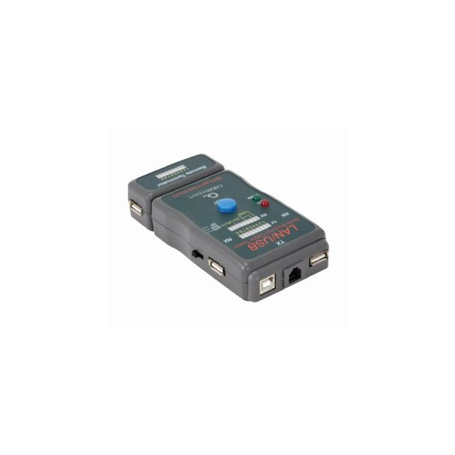 Cablexpert NCT-2 network cable tester Zwart
