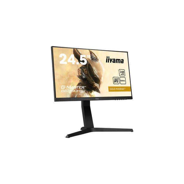 iiyama G-MASTER GB2590HSU-B1 PC-flat panel 62,2 cm (24.5 inch) 1920 x 1080 Pixels Full HD LED Zwart