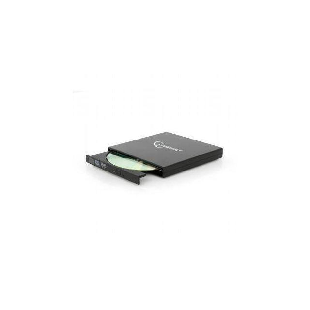 Gembird DVD-USB-02 optisch schijfstation DVD±RW Zwart