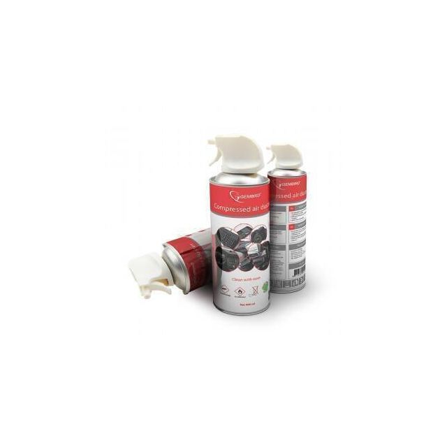 Gembird CK-CAD-FL400-01 compressed air duster 400 ml