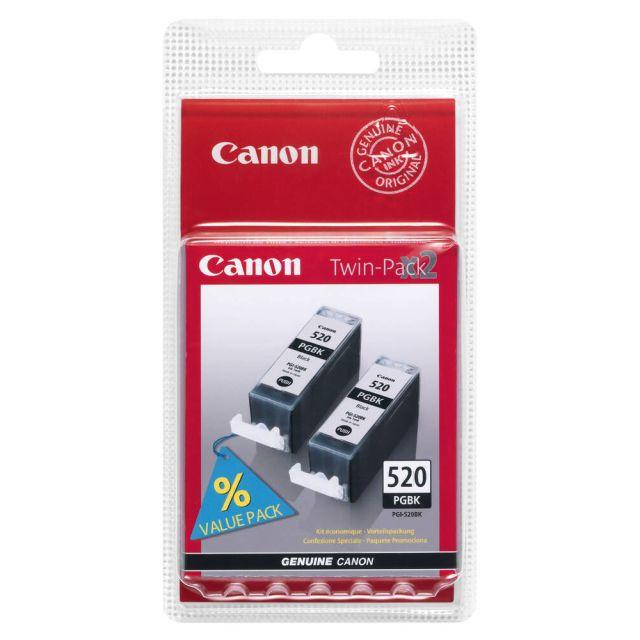 Canon PGI-520BK Twin Pack inktcartridge 2 stuk(s) Origineel Zwart