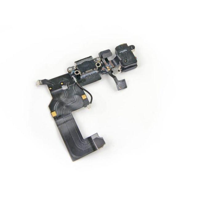 Oplaadpoort Flex kabel Zwart geschikt voor iPhone 5 voor Apple iPhone 5