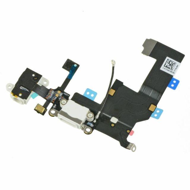 iPhone 5 oplaadpoort Flex kabel (Wit) voor Apple iPhone 5