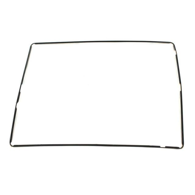 iPad 4 Digitizer Montuur met Plakstrip (Zwart)