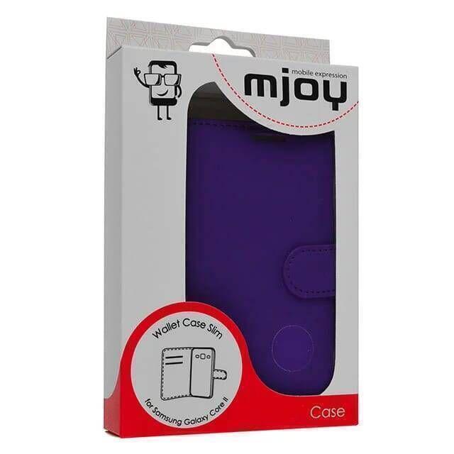 MJOY Wallet Case Slim - Samsung Galaxy Core 2 - Paars