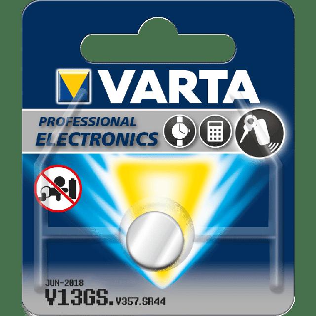 Varta V13GS Wegwerpbatterij SR44 Zilver-oxide