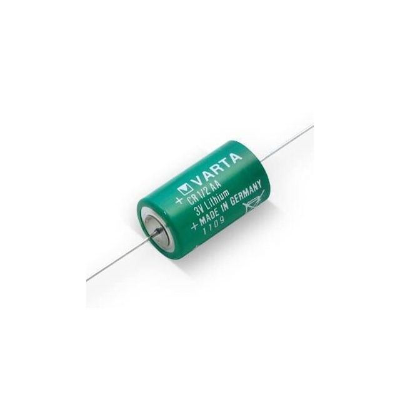 Varta lithium 1/2 AA 3v axiaal