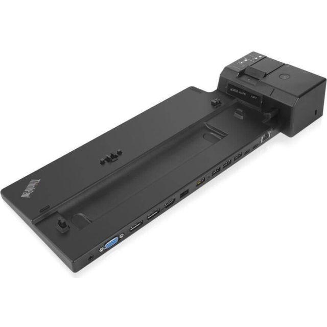 Lenovo 40AJ0135EU notebook dock & poortreplicator Docking Zwart