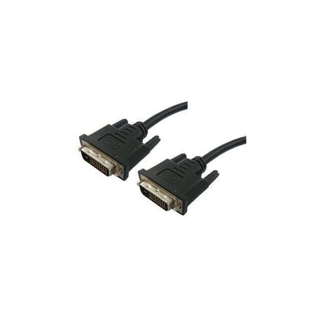 DVI-D Dual Link (24+1) Kabel 2 Meter - Zwart