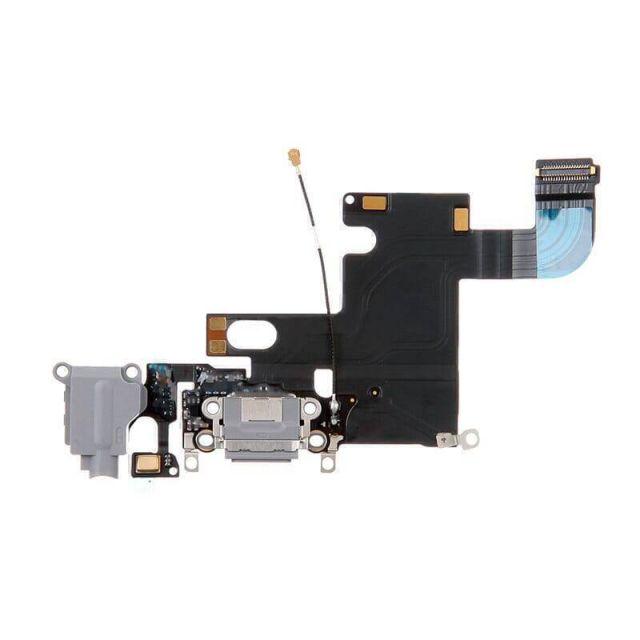 Laadpoort Space Gray voor iPhone 6 voor Apple iPhone 6