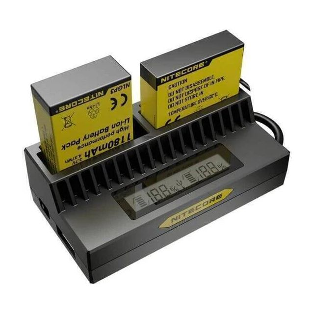 Nitecore UPG4 Camera battery charger for GoPro